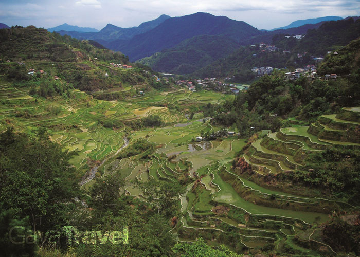 Banaue in northern Luzon is home to the 2,000-year-old Ifugao Rice Terraces that are billed as the eighth wonder of the world