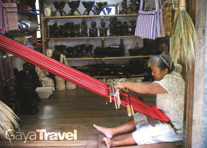 Sagada is well known for its weaving