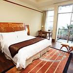 The bedroom with the view of Putrajaya Vicinity