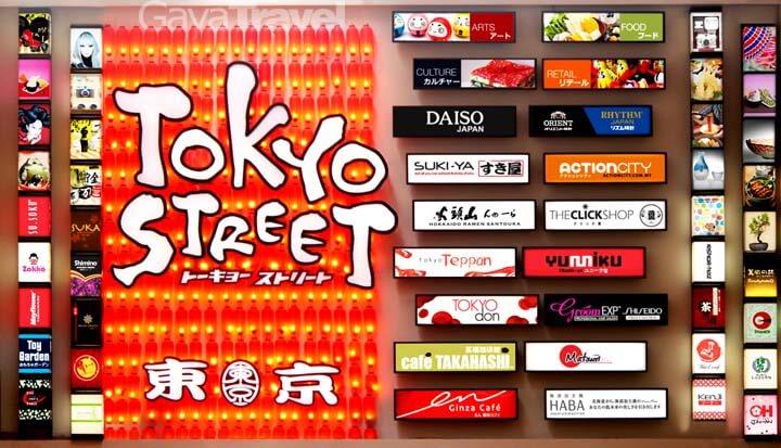 Tokyo Street,Pavillion Kuala Lumpur
