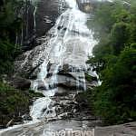 Jelawang Waterfall,305m in height and kwown as the tallest waterfalls in Asia