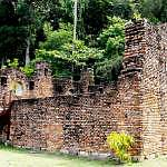 The ruins of Dutch Fort