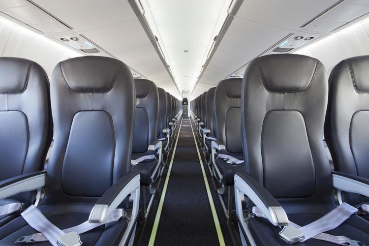 ATR 72-600 Air New Zealand MSN 1051 cabin interior