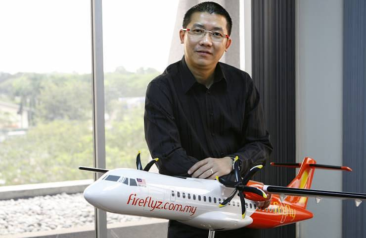 Firefly's CEO - Ignatius Ong