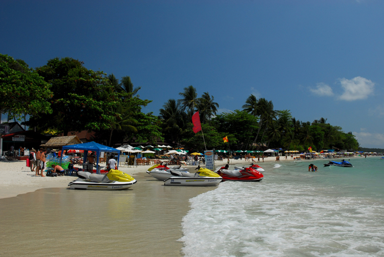 Chaweng Beach on Samui Island, Surat Thani