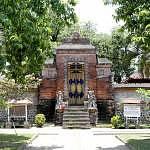 The Facade of Pura Lingsar Temple