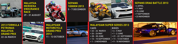 Sepang International Circuit.