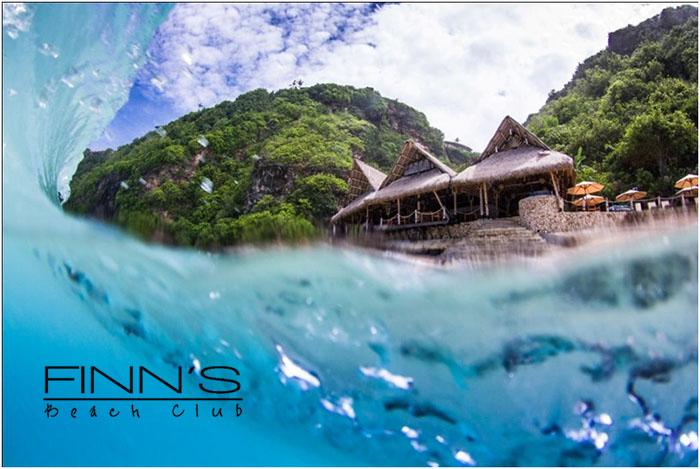 Finn's Beach Club from Water