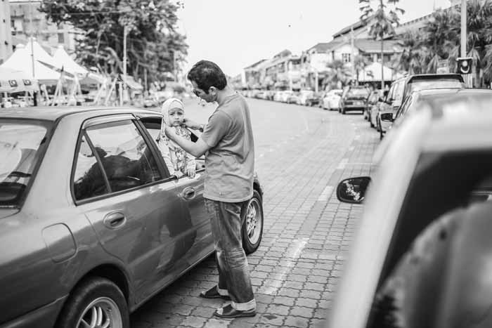 Professional Category - Street in Alor Star by Ronnie Chan