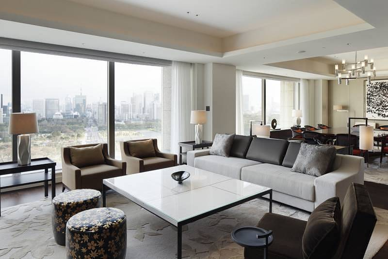 Palace Hotel Tokyo - Palace Suite - Living Room - I