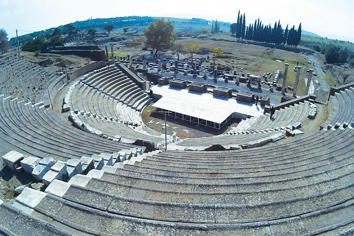 Asklepion, a health centre during the ancient world, had been in existence since 4th Century BC.