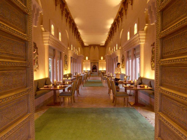 Amanjena Thai Restaurant Morocco