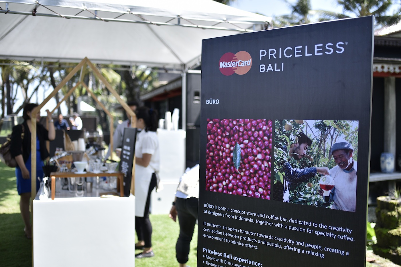 Mastercard introduces bali to the global priceless cities for Buro shop concept