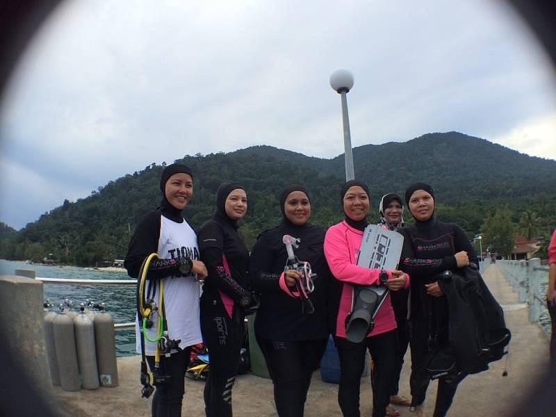 Start-in-Tioman 2016: It is Muslimah Divers' Turn!