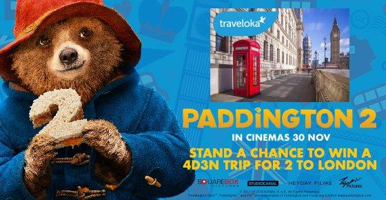 Traveloka - Paddington 2 Contest
