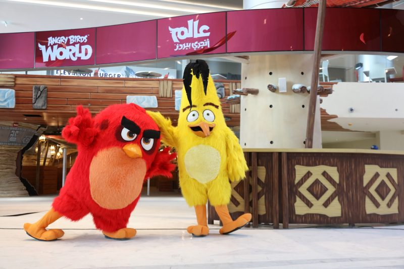 World's First ANGRY BIRDS WORLD™ Entertainment Park Opens in Qatar