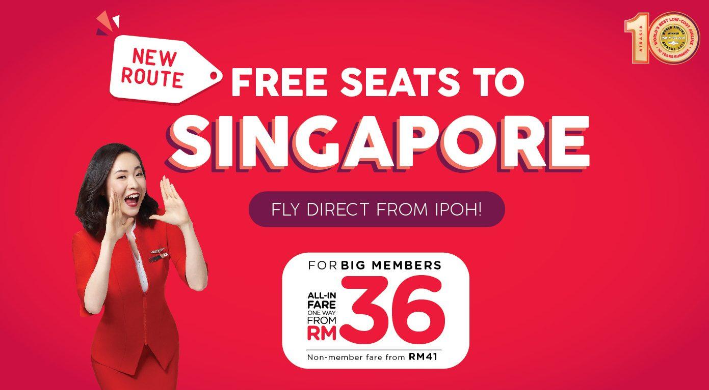 Air Asia IPH-SIN
