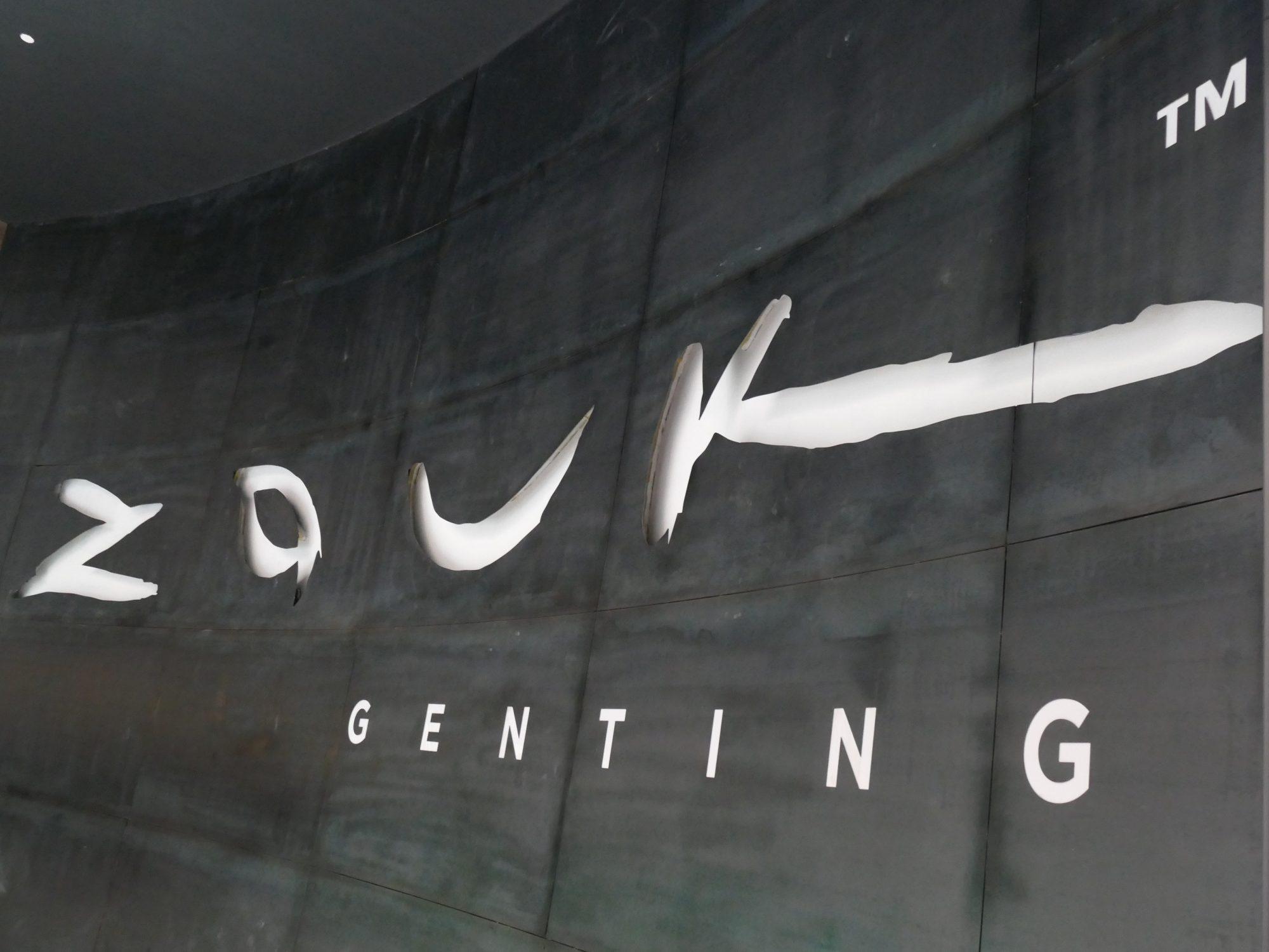 Zouk Genting entrance