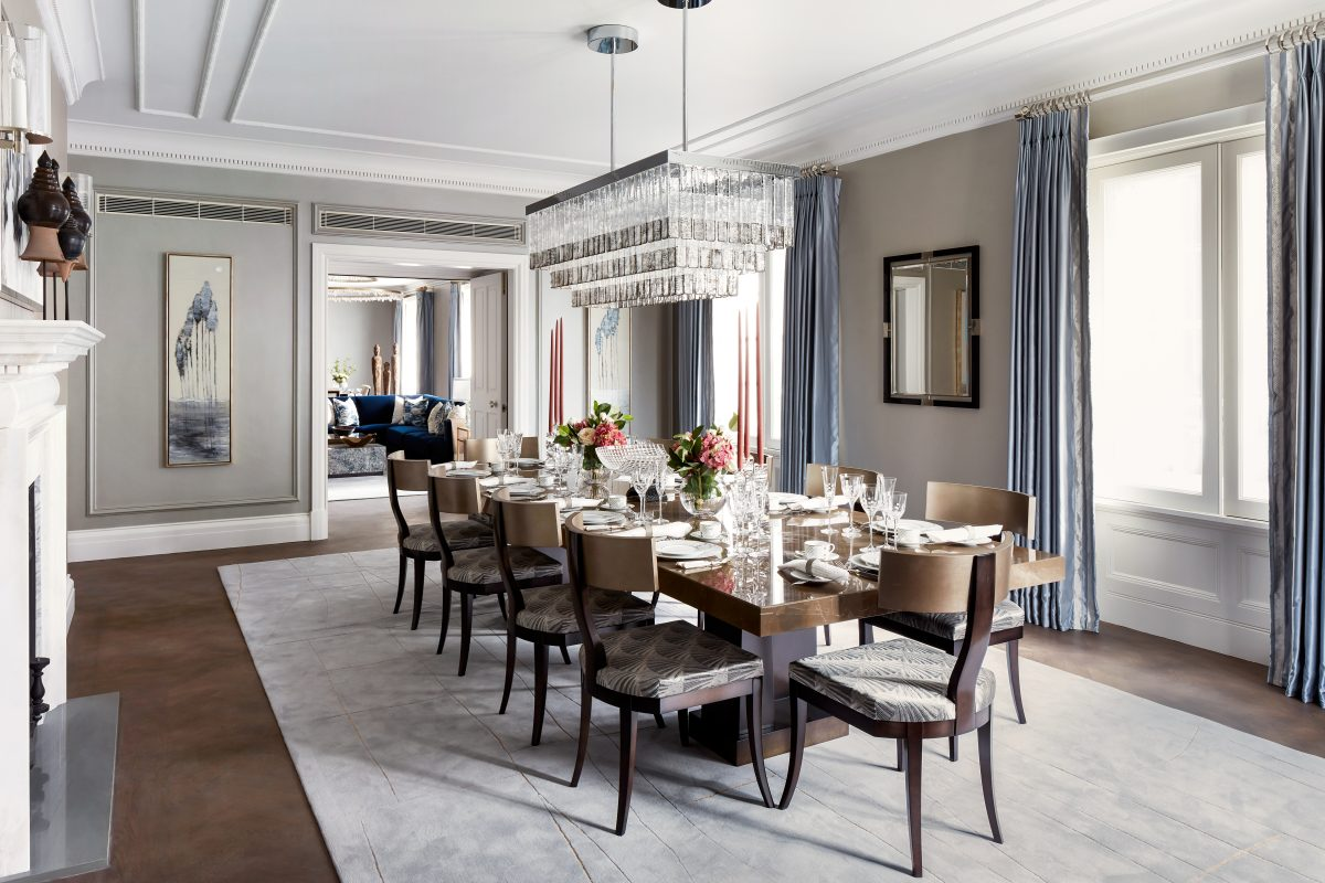 Katharine Pooley Presents The Clarence at St James House in London