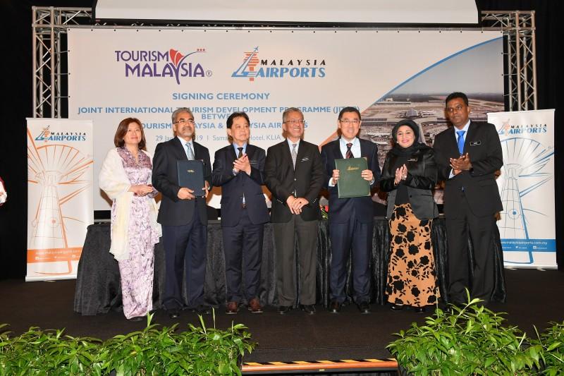 Tourism Malaysia and Malaysia Airports Sign MoU for JIDTP