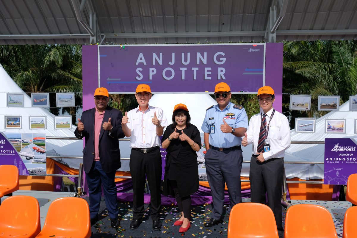 Malaysia's First Outdoor Plane Observation Deck Opens at KL International Airport