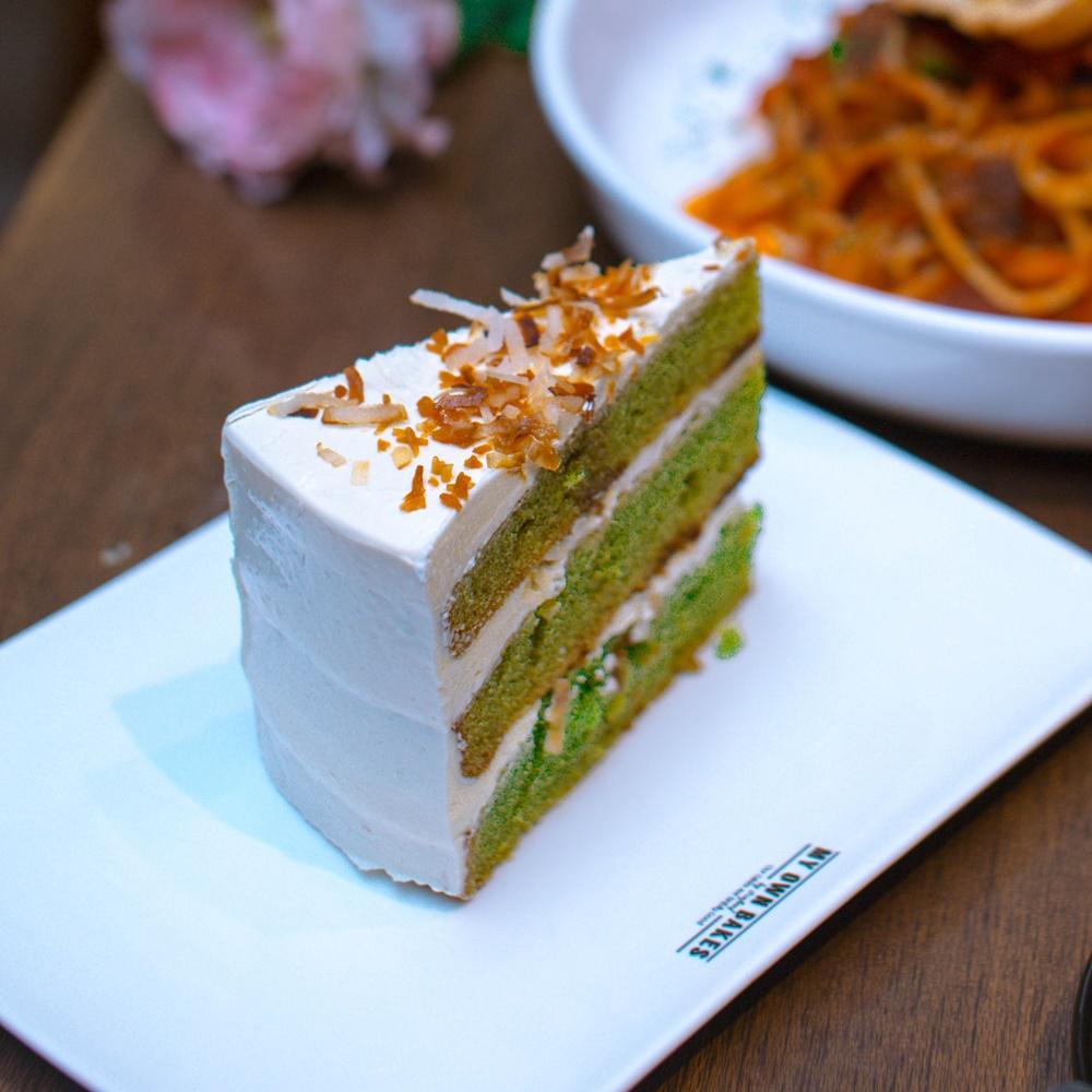 The Pandan Gula Melaka cake