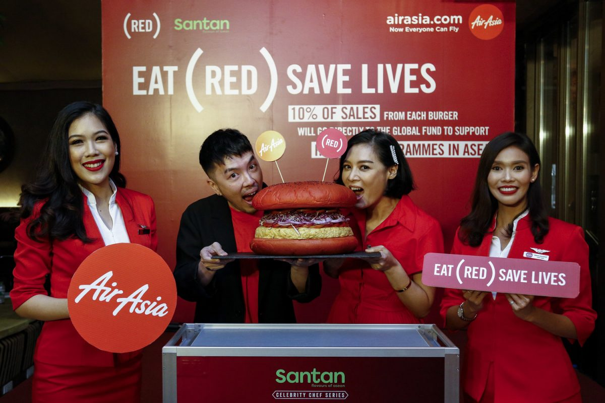 AirAsia Unveils (RED) In-flight Meal