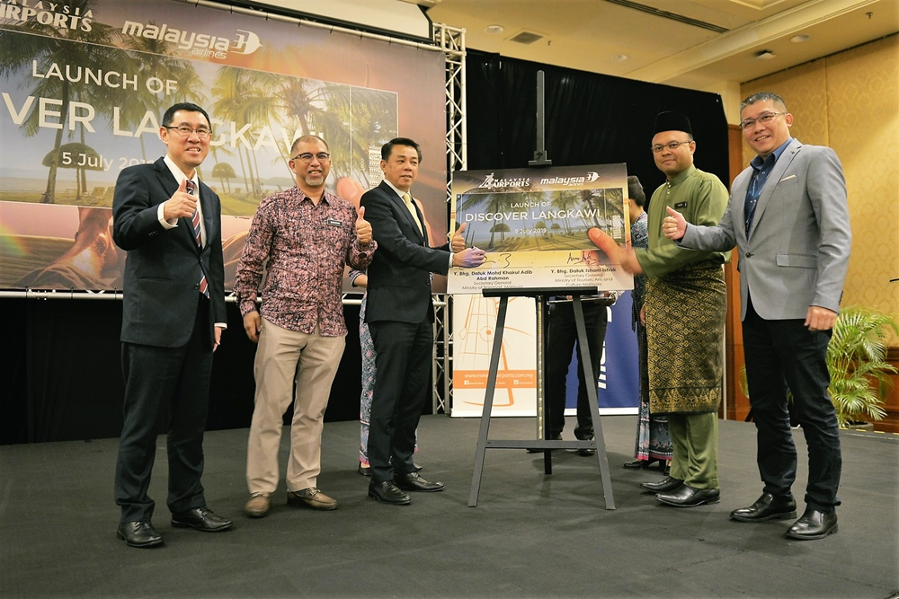 Malaysia Airports and Malaysia Airlines Collaborate to Attract More Tourists to Langkawi