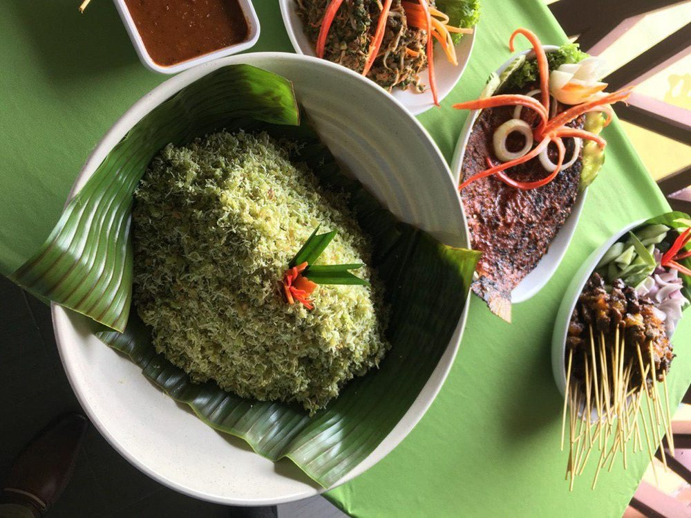 The Malays oats - emping rice