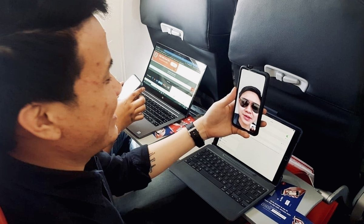 One Click and Chill: AirAsia's Inflight Wifi Just Got Faster