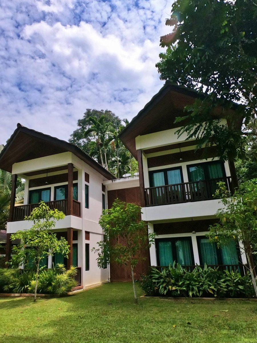 Chalet units at Bidaisari Resort