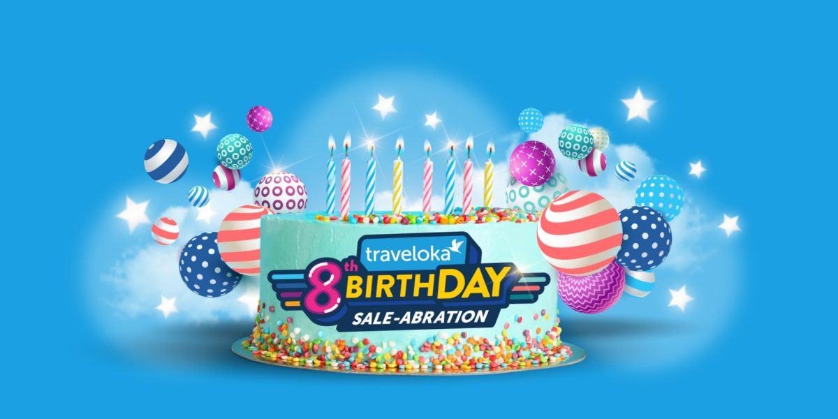 Traveloka Celebrates Its 8th Anniversary with discounts up to 50%