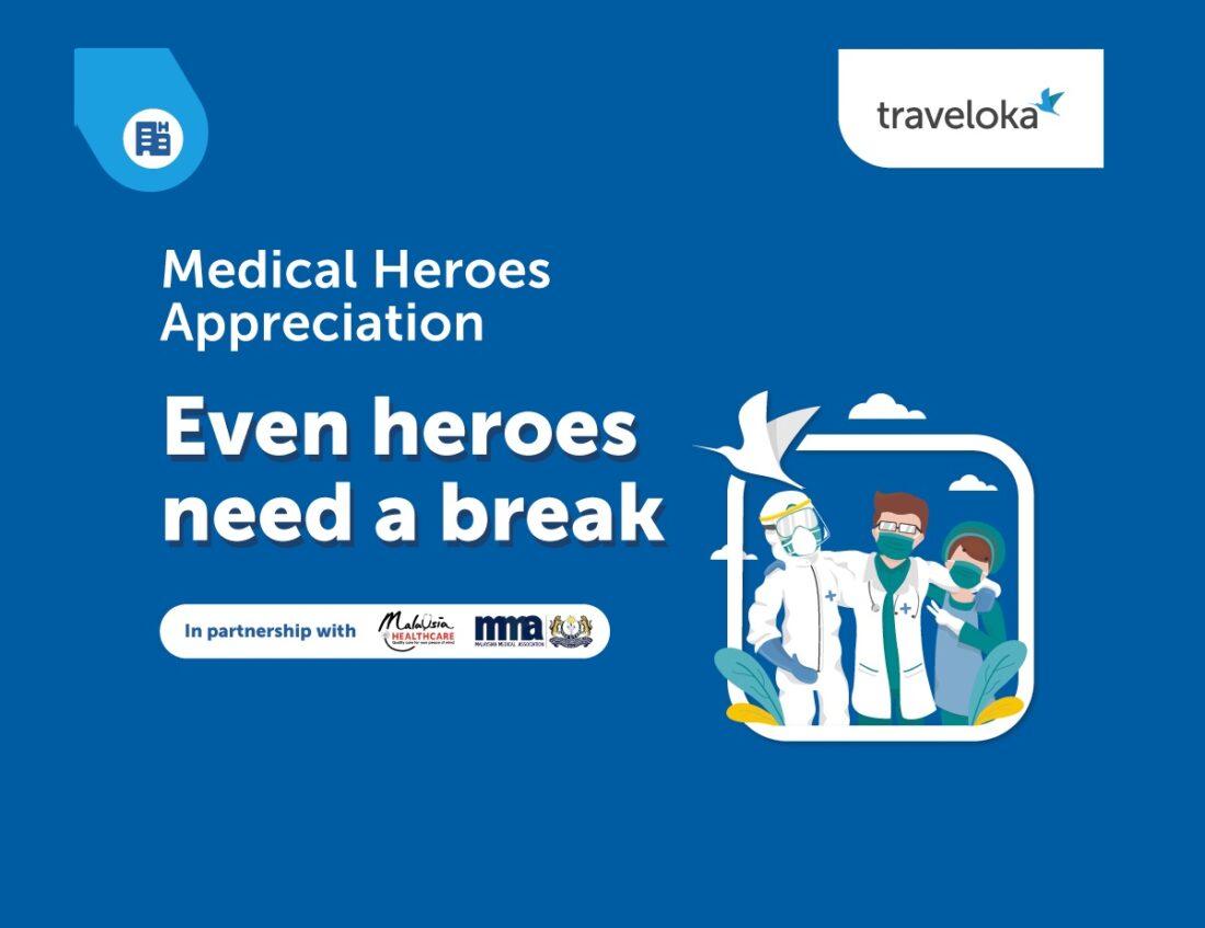 Traveloka Medical Heroes Appreciation Campaign