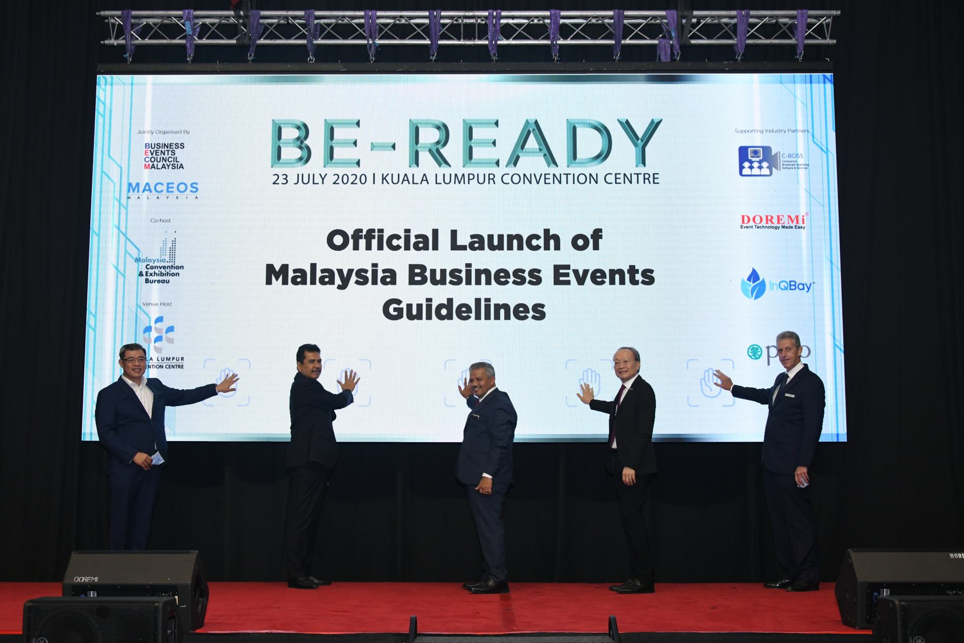 BE READY Launch