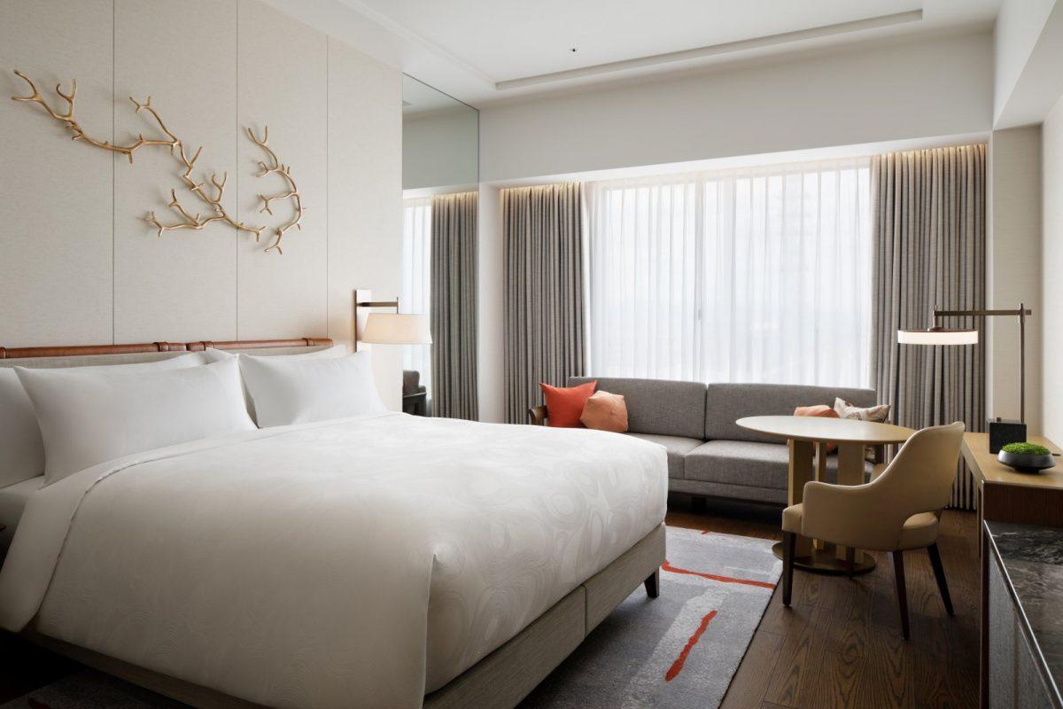 JW Marriott Hotel Nara's Deluxe Guestroom