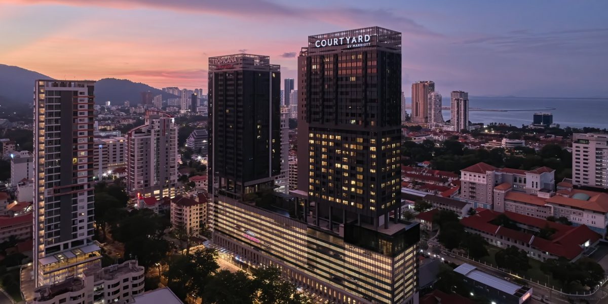 Courtyard by Marriott Makes Its Debut in Malaysia with the Opening of Courtyard by Marriott Penang