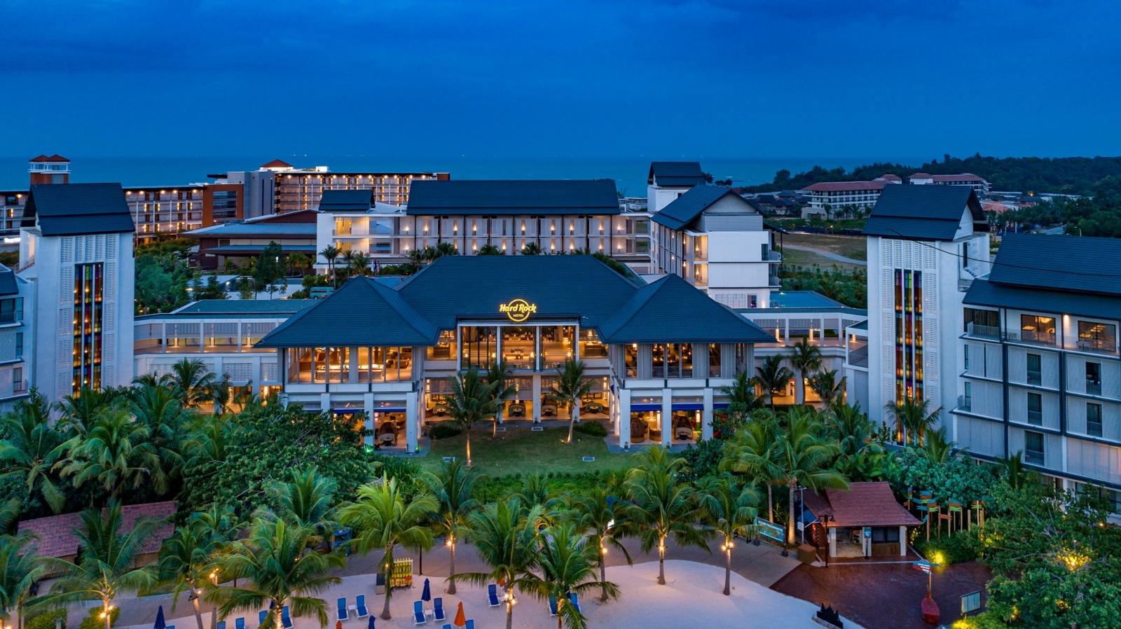 Exterior of Hard Rock Hotel Desaru Coast