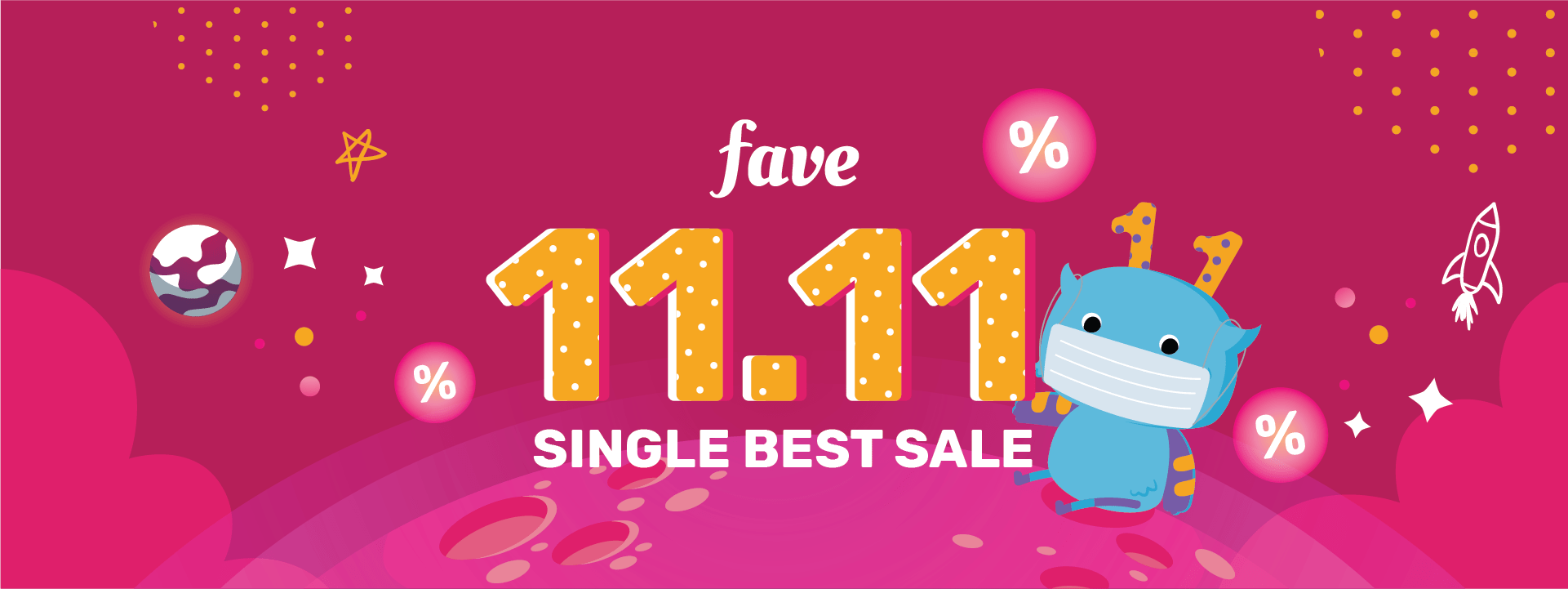 Save, Splurge & Repeat this 11.11 with Fave – CMCO Deals At 90% Off And More From Staycation, F&B To Wellness