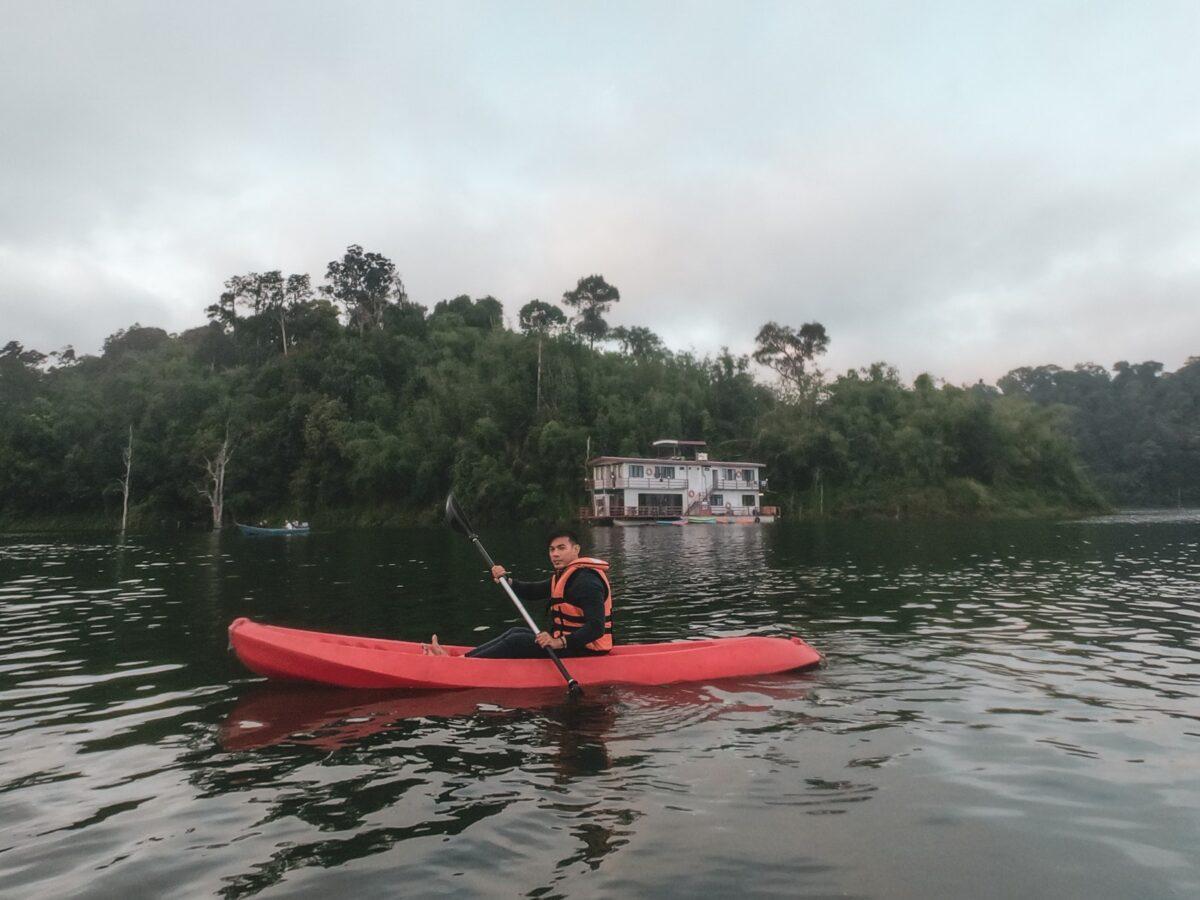 Kayaking at Royal Belum State Park