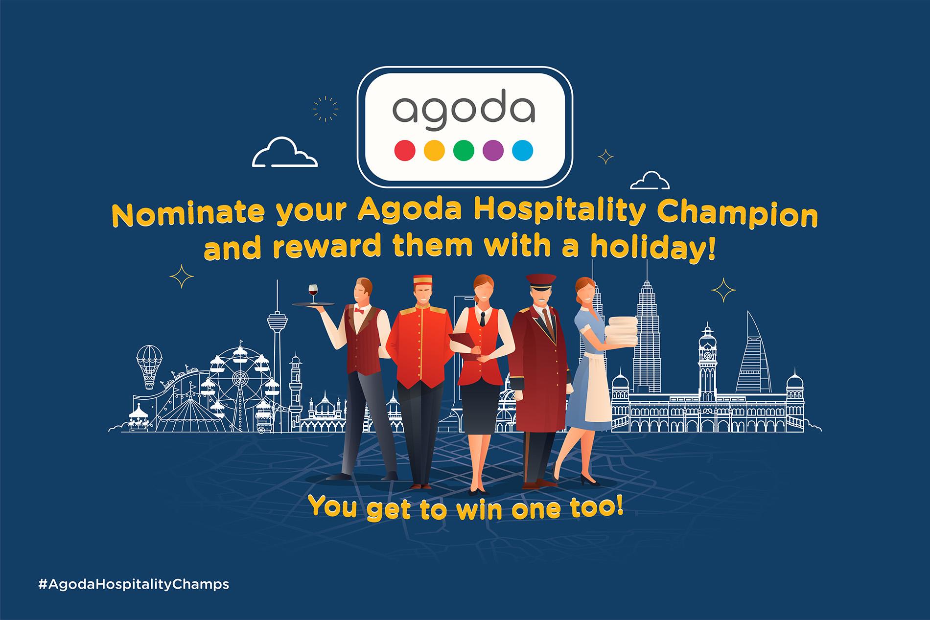 Agoda Hospitality Champion Campaign