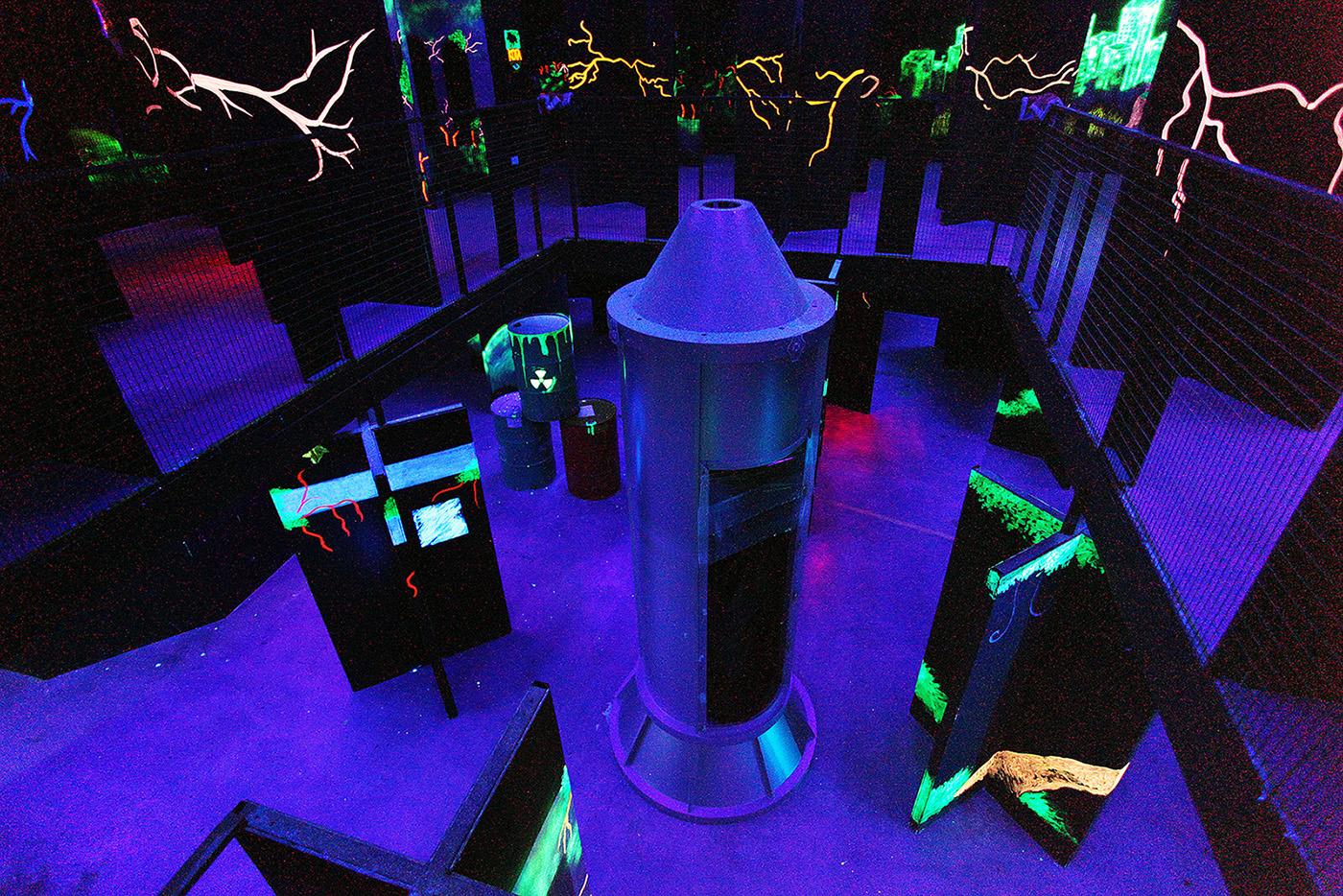 Galactic Laser at Sunway Pyramid