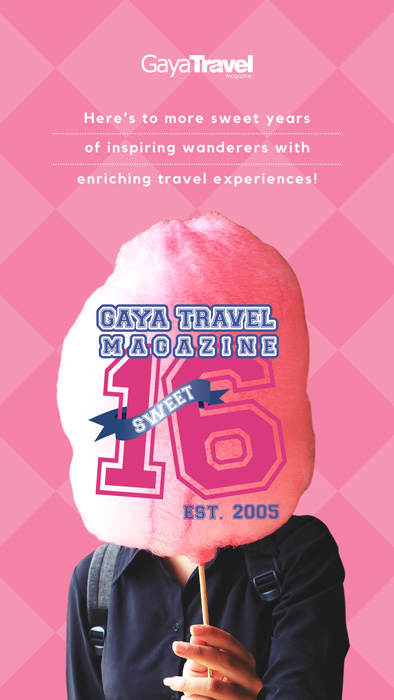 Gaya Travel 16 years Anniversary 2021 Banner