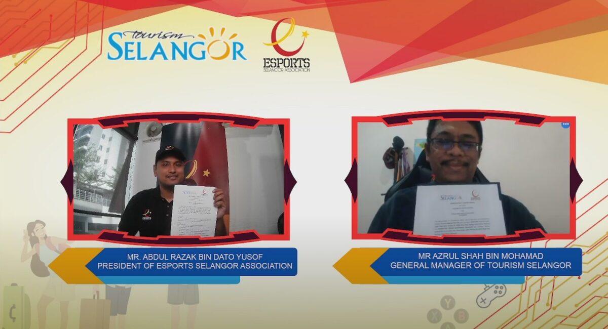 Tourism Selangor Signs a Memorandun of Understanding (MoU) with ESports Selangor Association