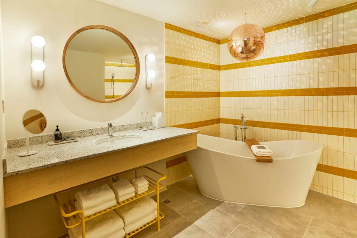 The Superior Suite Bathroom of The Standard, Hua Hin